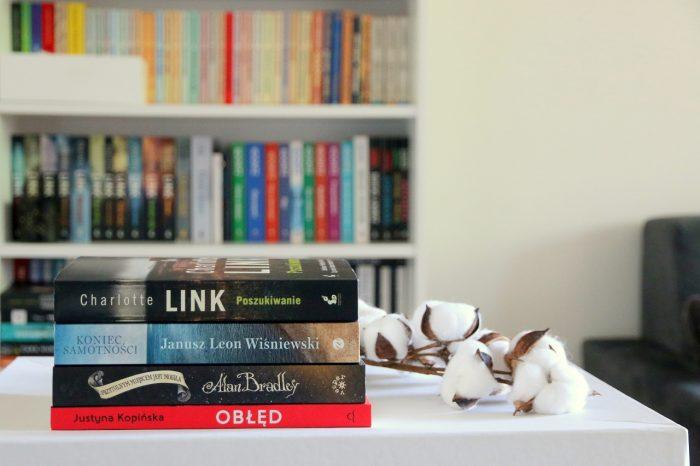 Podsumowanie listopada - stosik przeczytanych książek