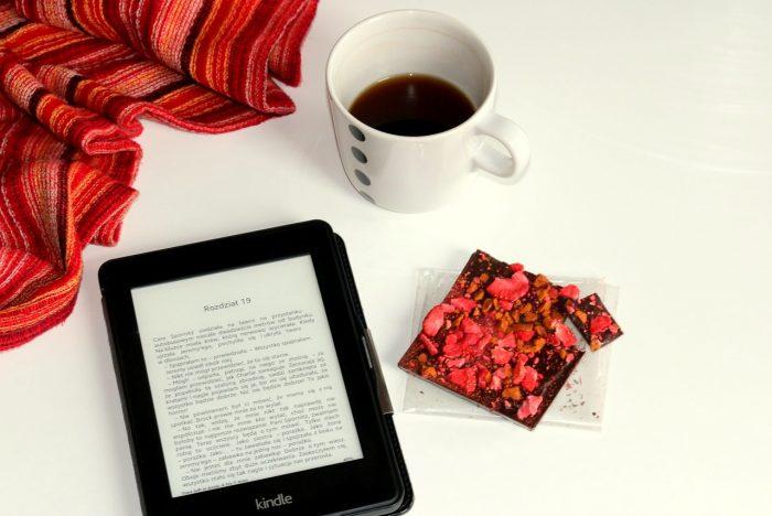 Kindle, kawa iczekolada