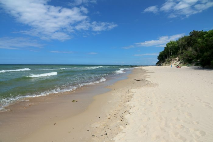 Gąski plaża