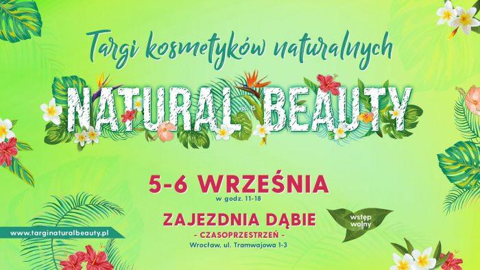 Targi Natural Beauty – Wrocław 5-6 września 2020