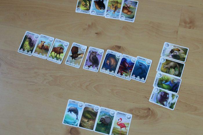 Cardline: Zwierzęta gra