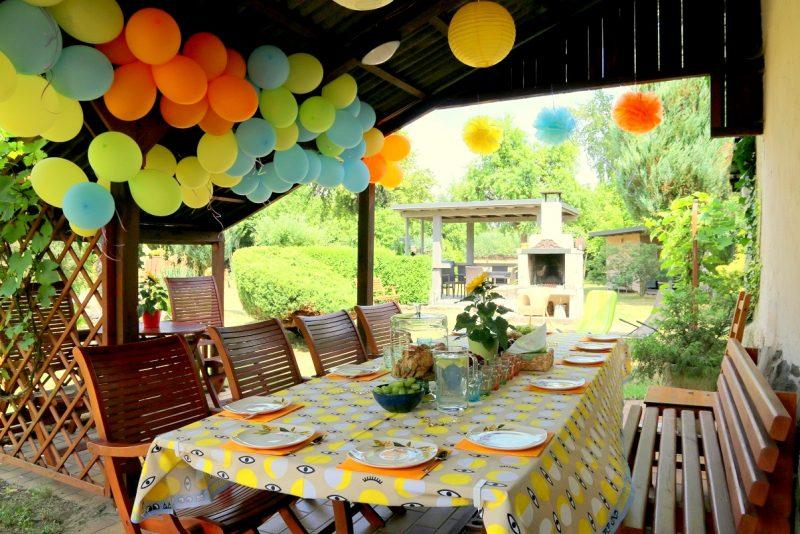 Urodziny na tarasie